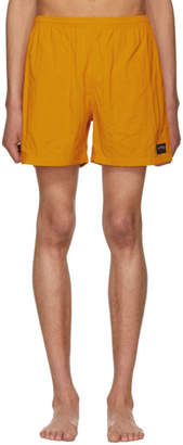 Noah NYC Orange Swim Shorts