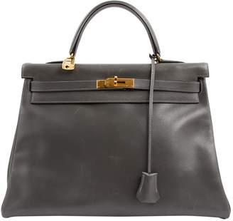 Hermes Kelly 35 leather handbag