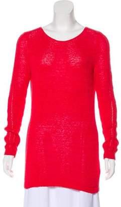 Rachel Zoe Scoop Neck Long Sleeve Sweater