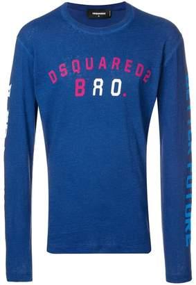 DSQUARED2 crew neck sweatshirt