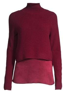 Elie Tahari Casper Cashmere Two-Piece Sweater