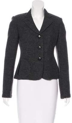Armani Collezioni Structured Virgin Wool Blazer