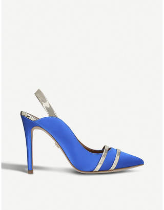 Kurt Geiger London Stratton high heel satin courts