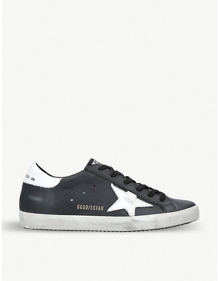 Golden Goose Superstar L27 leather trainers