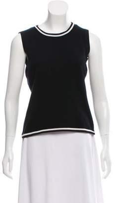 Loro Piana Sleeveless Cashmere Sweater Black Sleeveless Cashmere Sweater