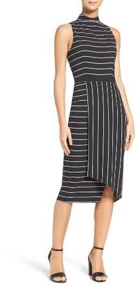 Women's Cooper St Stripe Midi Dress $159 thestylecure.com