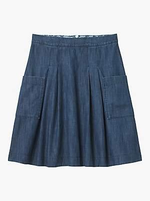 White Stuff Charlie Denim Skirt, Blue