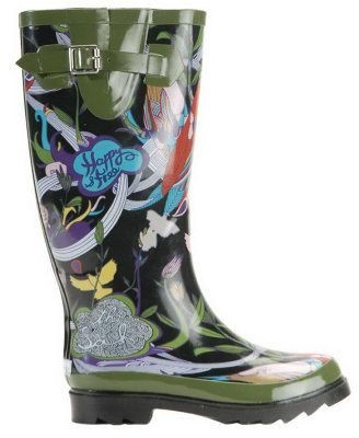 The Sak Sakroots Artist Circle Peace Rain Boots
