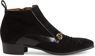 Gucci Suede ankle boot