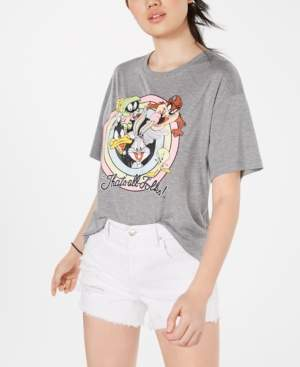 Looney Tunes Modern Lux Juniors' Graphic-Print T-Shirt