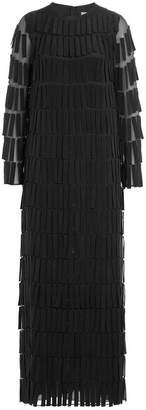 Valentino Floor Length Silk Gown