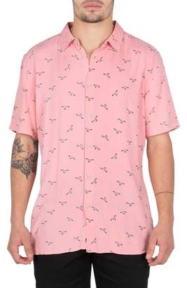 Barney Cools Seagull Print Shirt