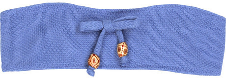 Undrest Knitted bandeau bikini top