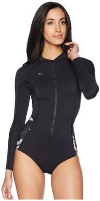 O'Neill Prem Long Sleeve Surf Suit Back Zip Women's Wetsuits One Piece