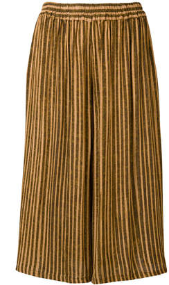 Humanoid striped cropped trousers