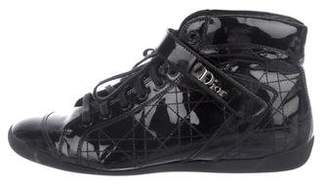 Christian Dior Cannage High-Top Sneakers