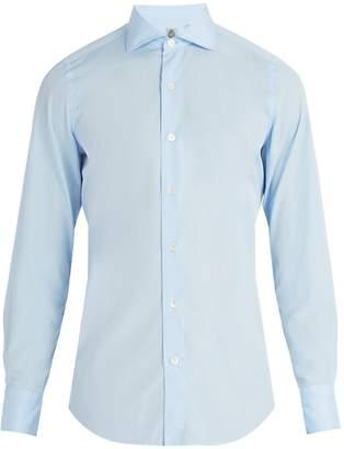 Finamore Seattle cotton-poplin shirt