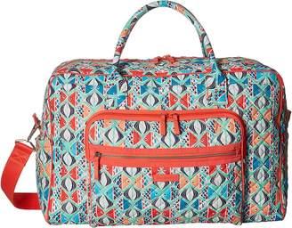 Vera Bradley Iconic Weekender Travel Bag Weekender/Overnight Luggage