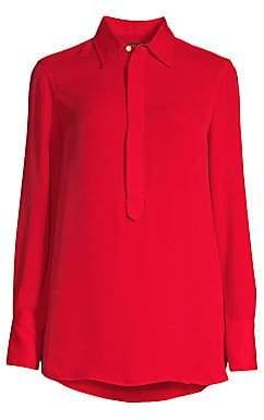 5777a423a Polo Ralph Lauren Women's Collared Long Sleeve Blouse