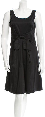 Kate Spade Kate Spade New York Bow-Accented Sleeveless Dress