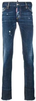 DSQUARED2 lightly distressed Cool Guy jeans