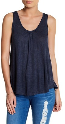 SUSINA Scoop Neck Back Tie Tank (Petite) $19.97 thestylecure.com