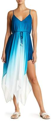 Hawaiian Tropic Dip Dye Ombre Dress