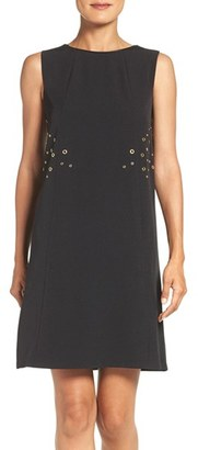 Women's Julia Jordan Bateau Shift Dress $138 thestylecure.com