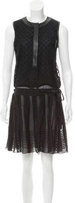 Diane von Furstenberg Lace Knee-Length Dress