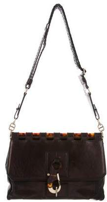 ea683222a2 Pre-Owned at TheRealReal · Tom Ford Leather Frame Flap Bag