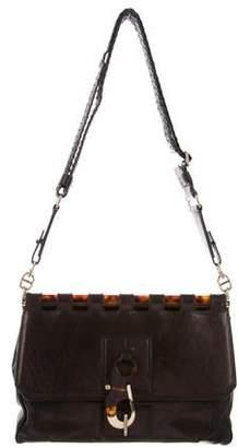Tom Ford Leather Frame Flap Bag