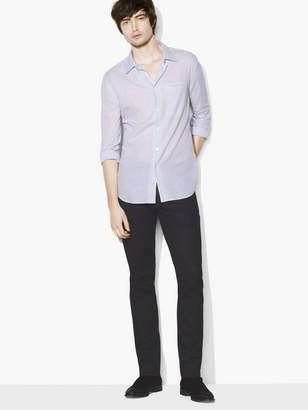 John Varvatos Checked Roll-Sleeve Shirt