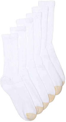 Gold Toe Athletic Crew Socks - 6 Pack - Men's