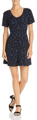 Sadie & Sage Short-Sleeve Floral-Print Dress