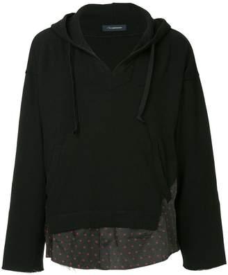 John Undercover V-neck hoodie
