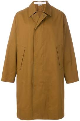 Jil Sander oversized button coat