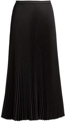 Prada Pleated twill skirt