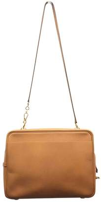 Hermes Vintage Camel Leather Handbag