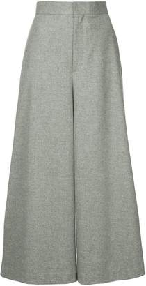 Enfold high-waist palazzo pants