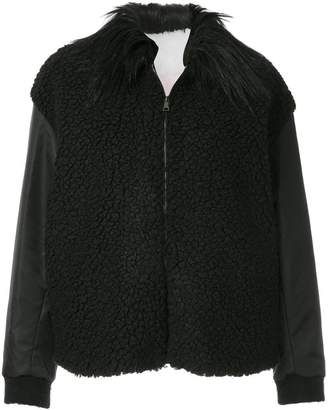 Giamba fur collared shearling jacket