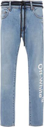 Off-White Skinny Logo Jeans