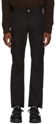 Junya Watanabe Black Technical Cargo Pants