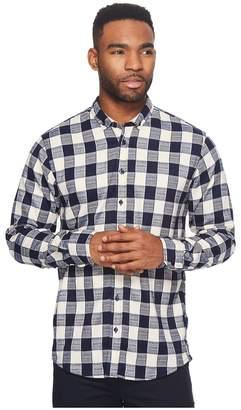 Publish Bernhard Premium Brushed Flannel Button Down Shirt Men's Long Sleeve Button Up