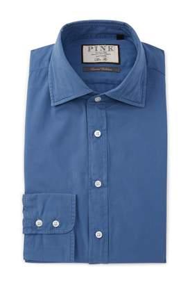 Thomas Pink Slim Fit Jakob Plain Dress Shirt