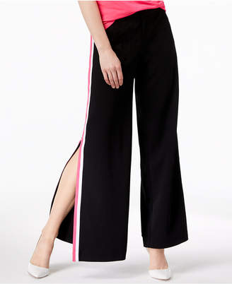 INC International Concepts I.n.c. Petite Varsity-Stripe Wide-Leg Pants, Created for Macy's