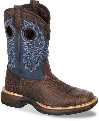 Durango Lil' Rebel Exotic Western Toddler & Youth Cowboy Boot - Boy's