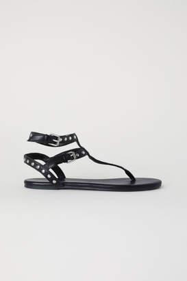 H&M Studded Sandals - Black