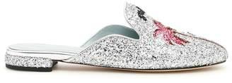 Chiara Ferragni Glitter Suite Mules