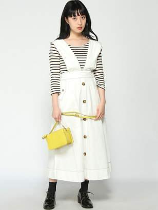WEGO (ウィゴー) - BROWNY BROWNY/(L)2WAY配色STチノロングスカート ウィゴー スカート
