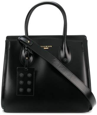 Balmain top handle tote
